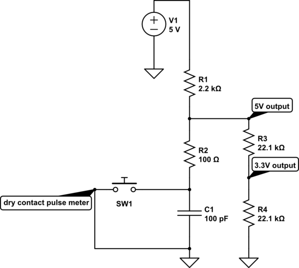 Is it possible to filter out noise to a pulse counter when