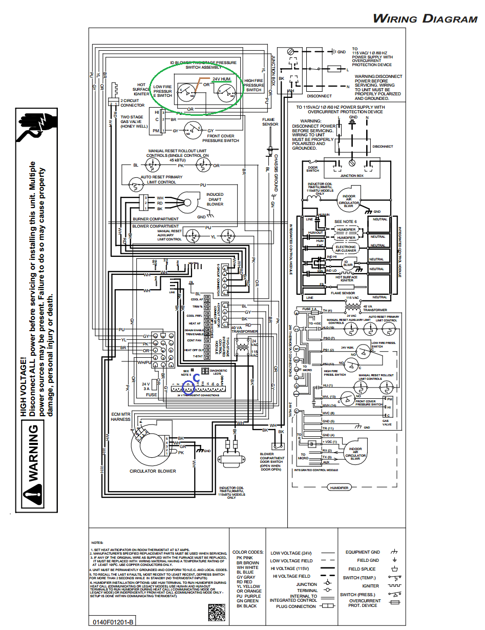 medium resolution of goodman gmvc95 wiring diagram