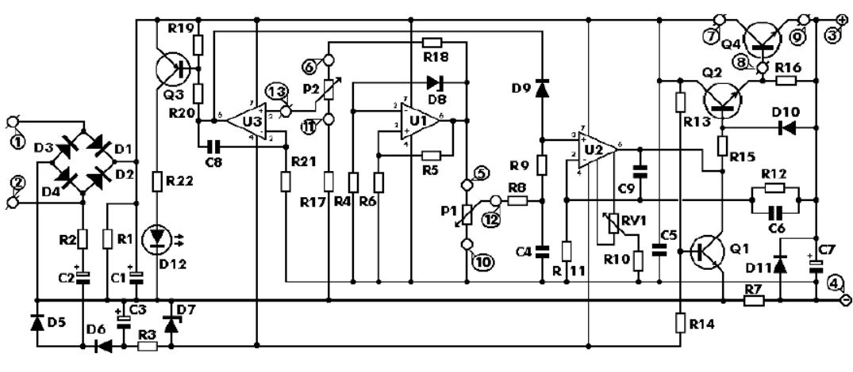 Help understanding schematic (voltage regulator