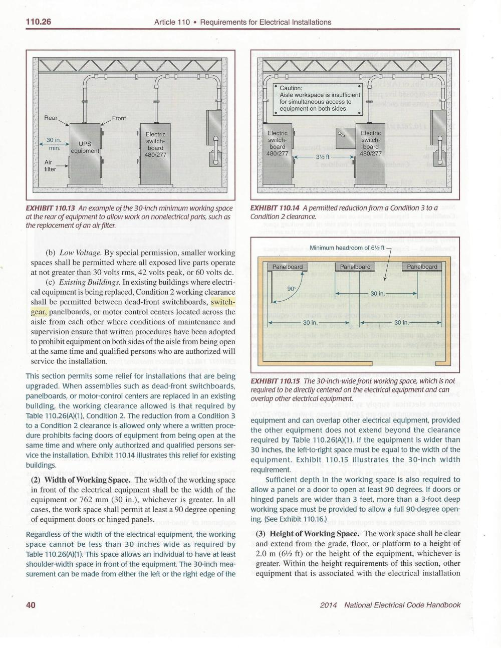 medium resolution of code compliance space requirements for first subpanel and wiring sub panel wiring diagram garage see attached