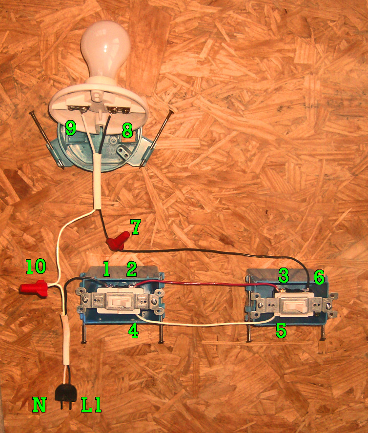 2 Way Switch Wiring Methods