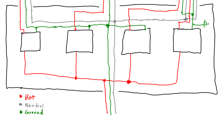 Electrical In A Multi Gang Box Are Neutral Wires Paired With