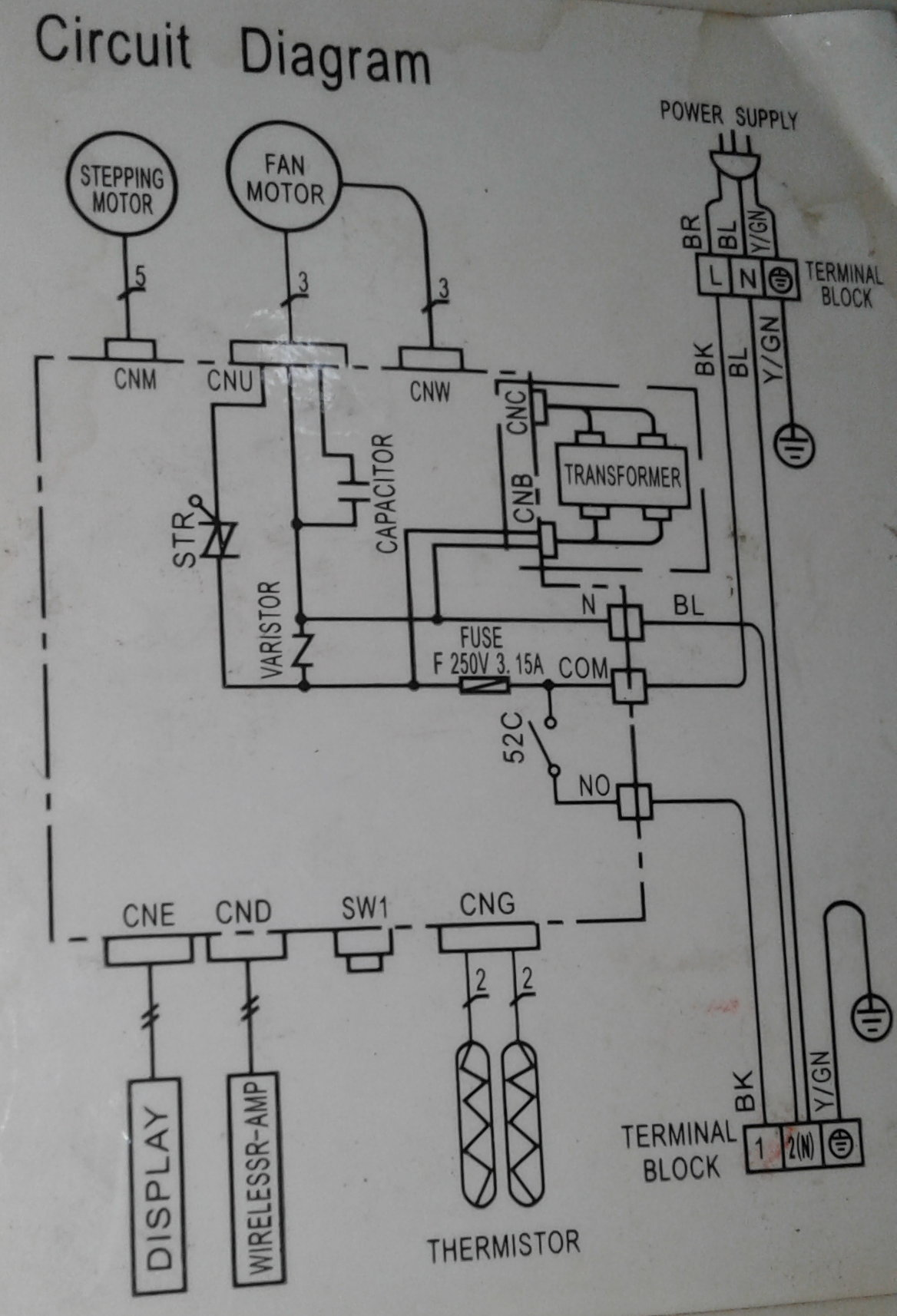 Schematics Control Speed Of Nidec Fan Electrical Engineering