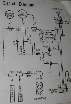 motor  Need Wiring Help For Aircon Blower Fan