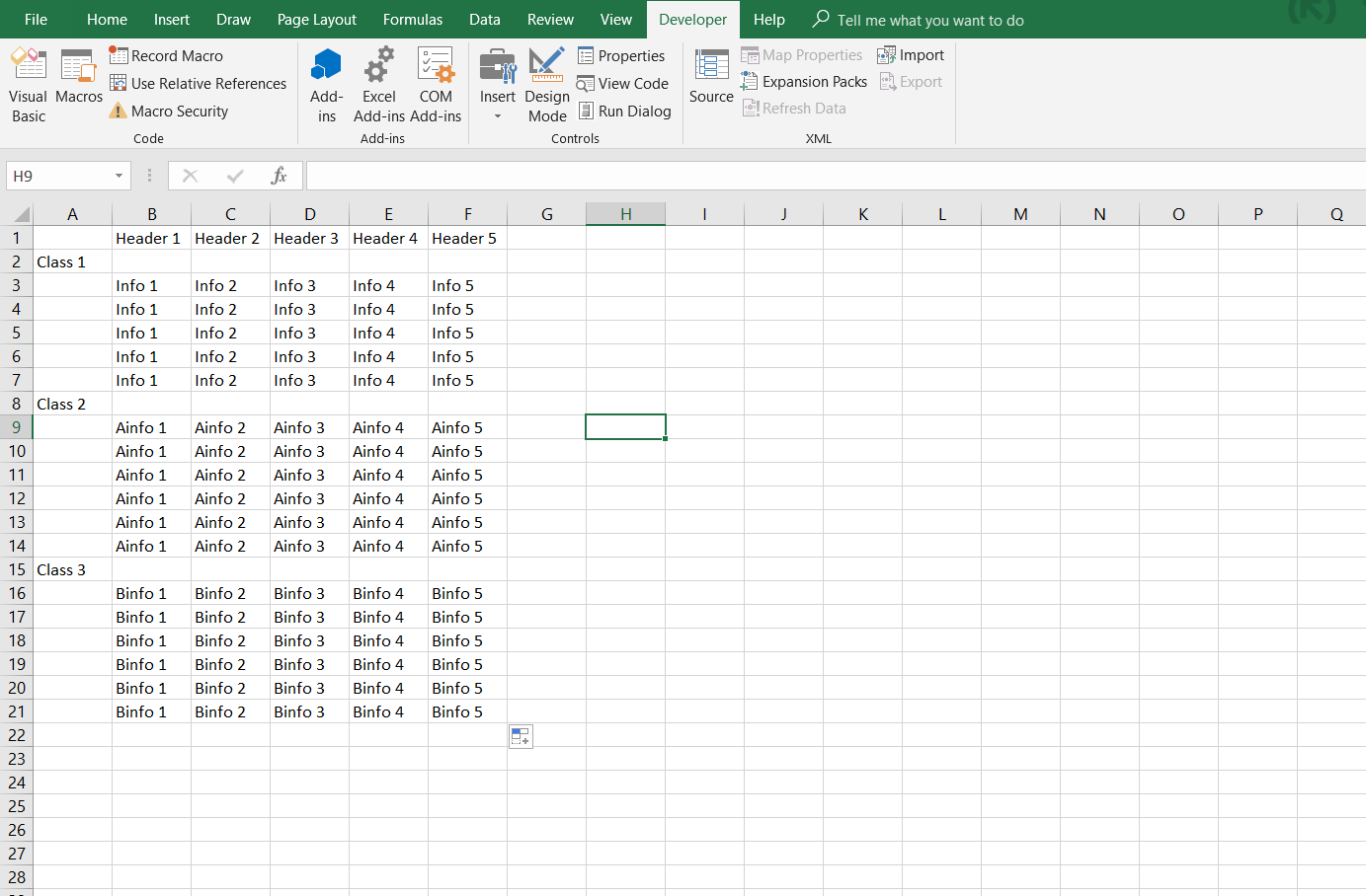 Vba Split An Excel Sheet Into Other Sheets Based On Data