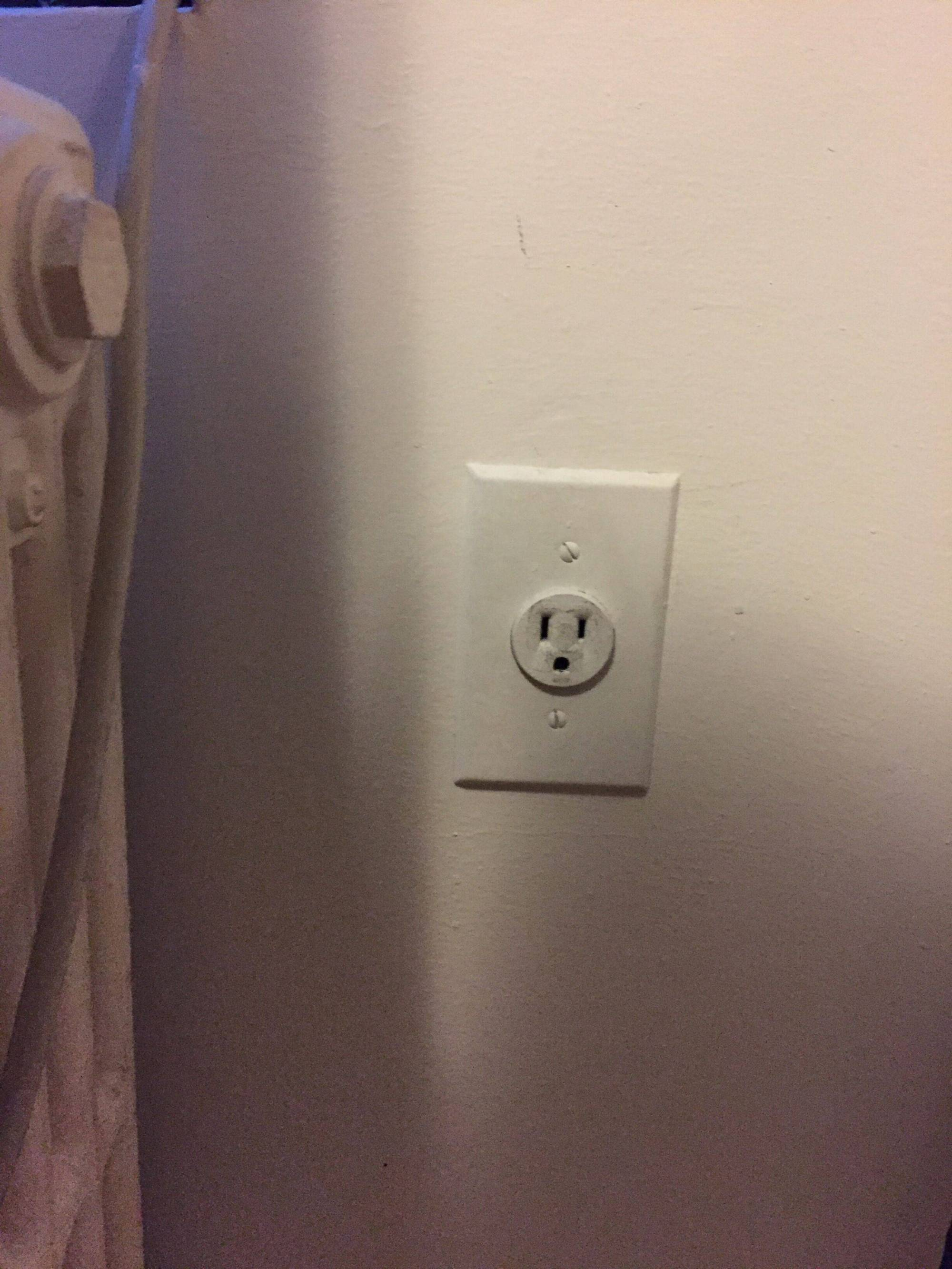 hight resolution of outlet electrical receptacle
