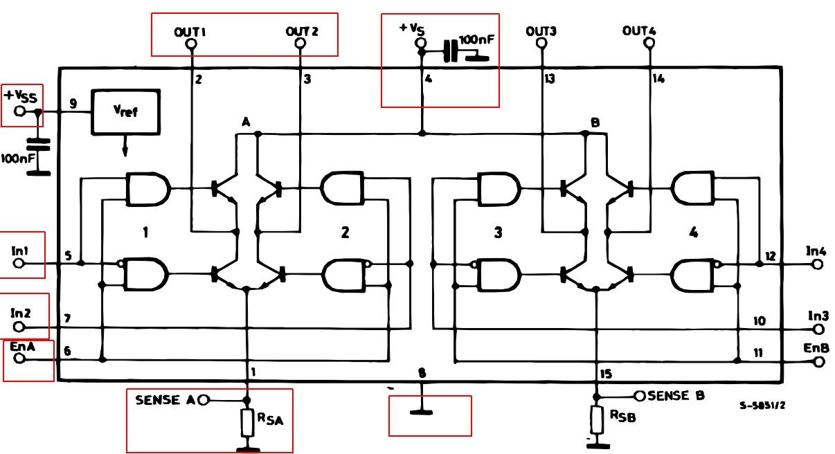 l298 h bridge circuit diagram 1992 dodge dakota ignition wiring not working electrical engineering stack exchange enter image description here