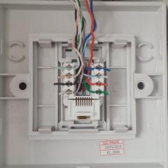 Wall Outlet Wiring Diagram Honeywell R845a Wondering Why This Ethernet Plug Is Not Working