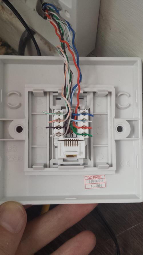 small resolution of ethernet wall jack wiring