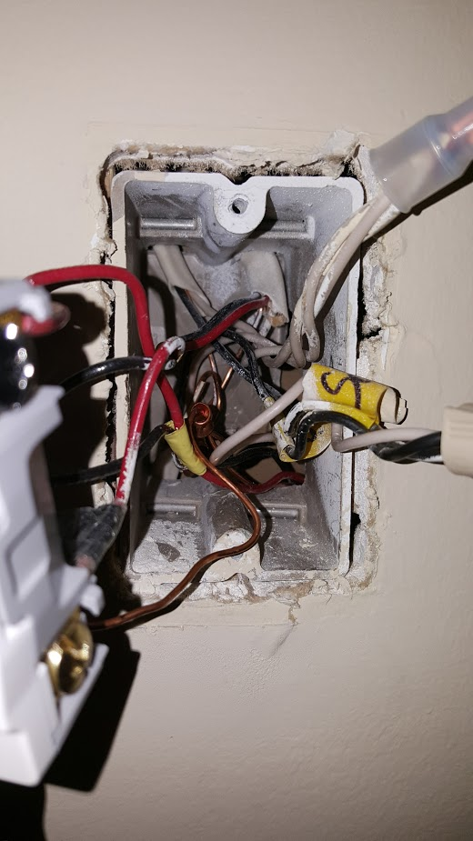 Electrical Is This 2 Way Light Switch Wired Dangerously Home
