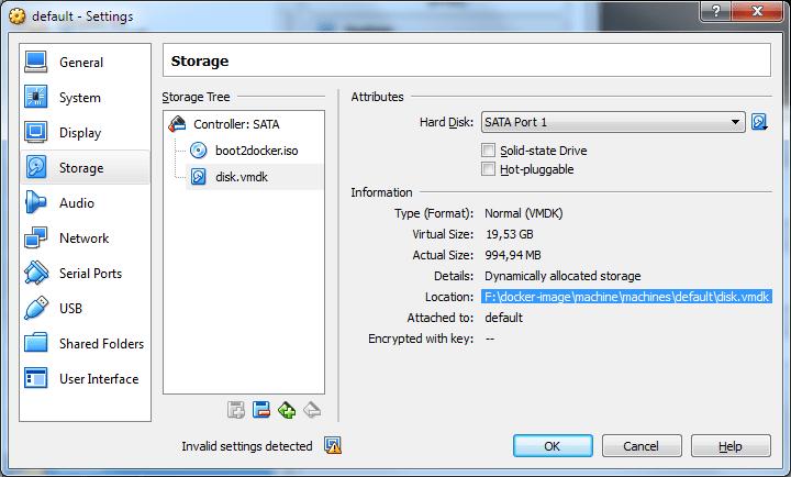 Change Docker machine location - Windows - ExceptionsHub