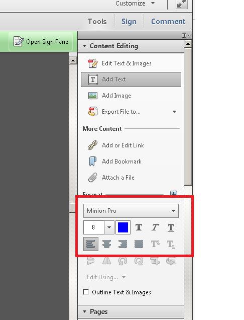 在Adobe Acrobat XI Pro中更改默認字體大小和字體顏色 | 碼農俱樂部 - Golang中國 - Go語言中文社區