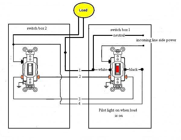 3 way switch wiring diagram pilot  pietrodavicoit power