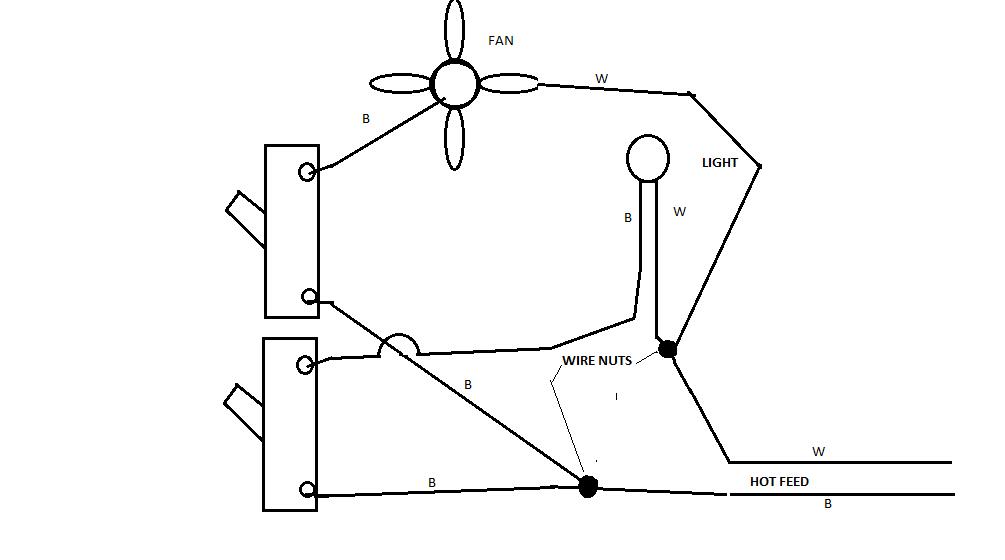 Wiring Diagram For A Bathroom Exhaust Fan : 41 Wiring