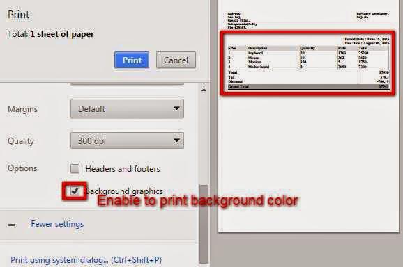 Enter Description Here Since Node Webkit Does Not Have The Print Background Color