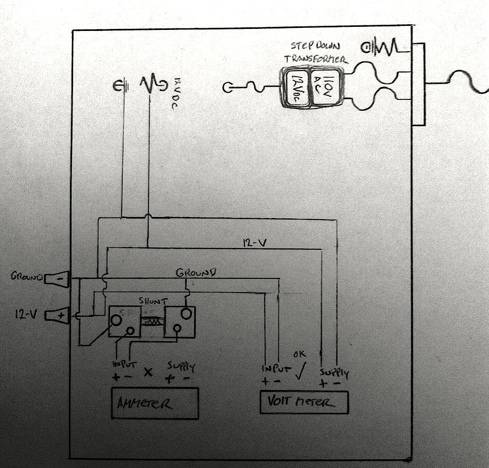 medium resolution of rough schematic of my power supply power isolation 12v