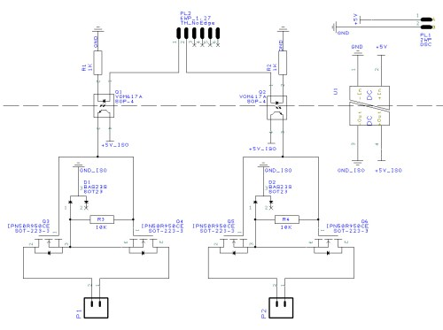 small resolution of circuit diagram of experimental dual mosfet ac switching circuit