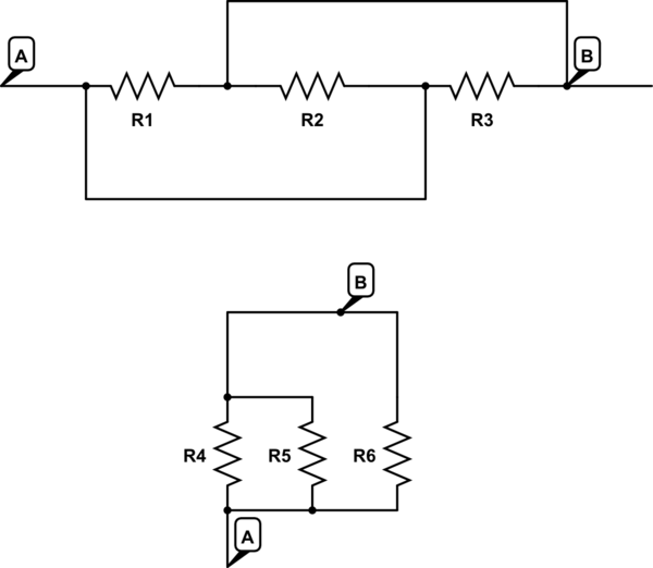 equivalent resistance in a short circuit electrical engineering