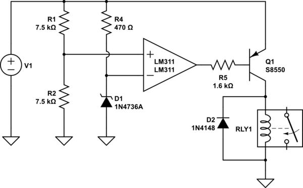 LM311P Op-amp Strange Behavior In Comparator Mode