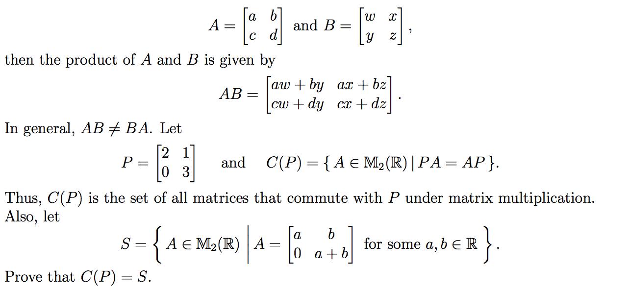 Elementary Linear Algebra Proof  Mathematics Stack Exchange