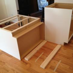 Install Kitchen Island Stainless Steel Garbage Can My Floor Support Home Improvement