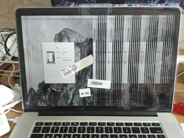 Macbook Pro Screen Replacement Display Correctly