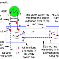 Wiring Diagram For 3 Way Switch Two Lights Erp Data Flow Electrical How Do I Wire A Three With Enter Image Description Here