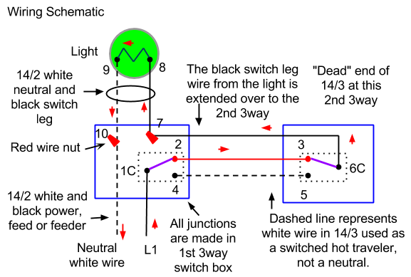 how do i wire a three way switch with two lights  home