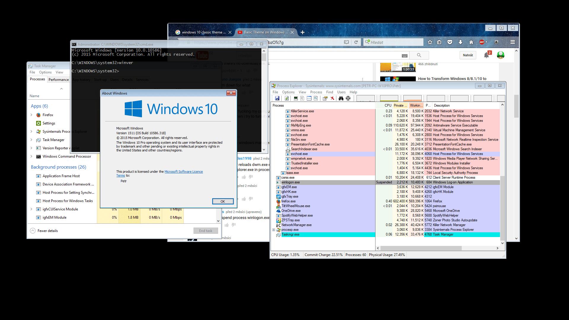 dwm  Temporarily disable Desktop Composition in Windows