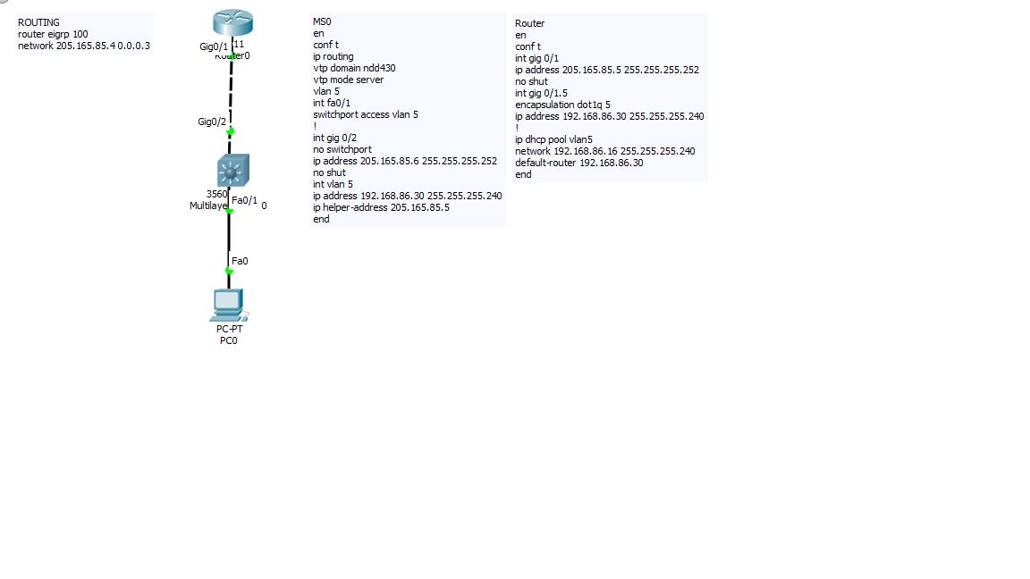 Vlan cannot get DHCP address from using Router and L3