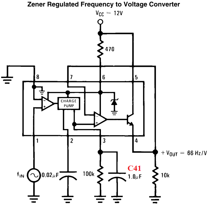 what do the resistors do in this circuit with an lm2917 and lm3915