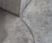Cracked Concrete Basement Floor