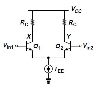 Why the voltage across emitter resistor comes out to be
