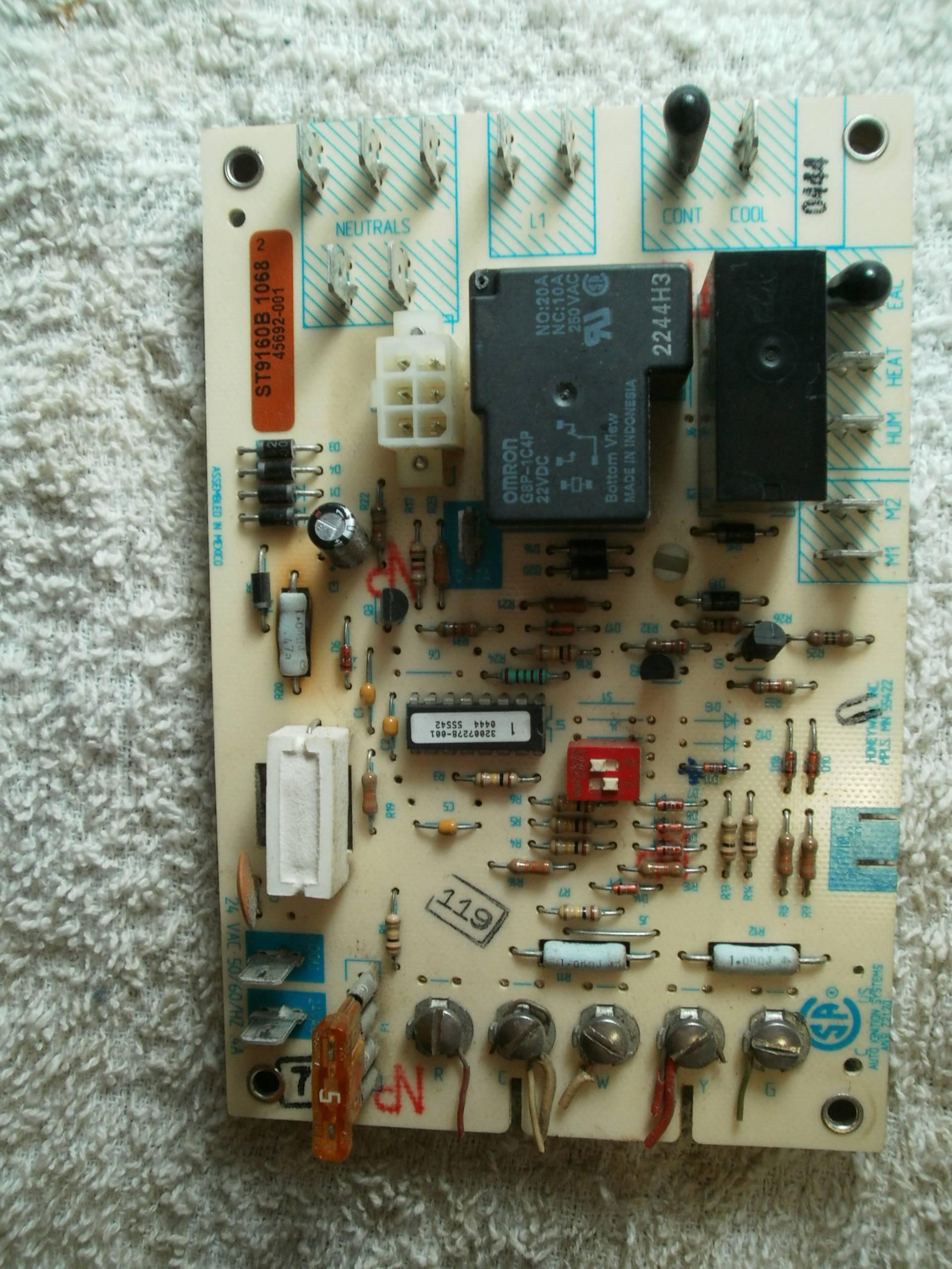 hvac wire diagram western star truck wiring - troubleshoot ac issue, no inside blower home improvement stack exchange
