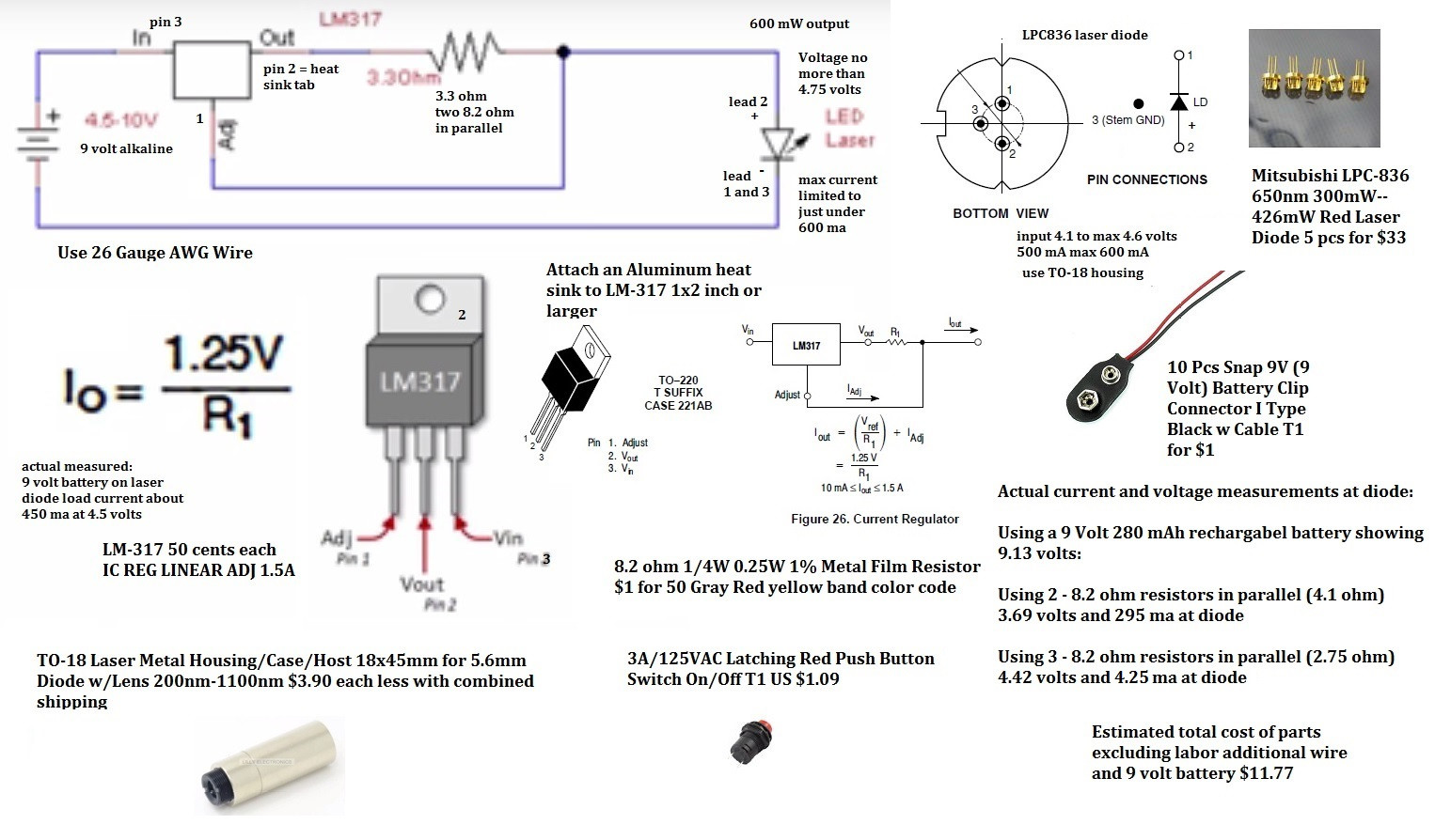 500mw laser diode: What's the point of a driver and will