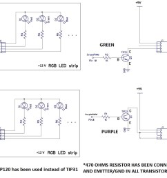 transistors what is the problem with my led panel switching pump control panel wiring diagram four [ 2424 x 1218 Pixel ]