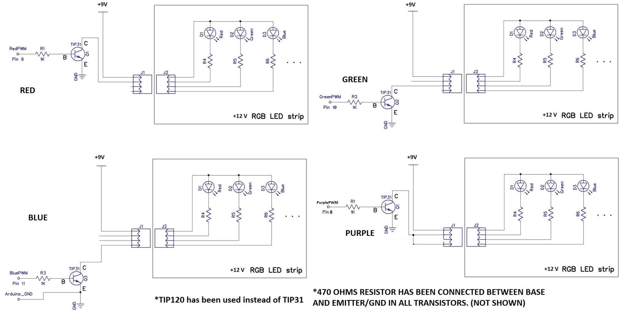 hight resolution of transistors what is the problem with my led panel switching pump control panel wiring diagram four