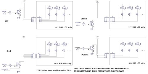small resolution of transistors what is the problem with my led panel switching pump control panel wiring diagram four