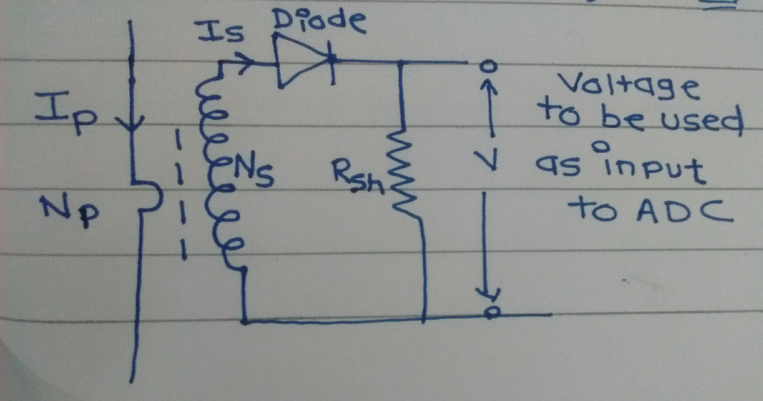 Resistance Voltage Conversion Circuit Basiccircuit Circuit