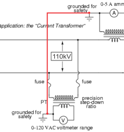 circuit to illustrate the idea enter image description here high voltage current transformer [ 1532 x 1101 Pixel ]