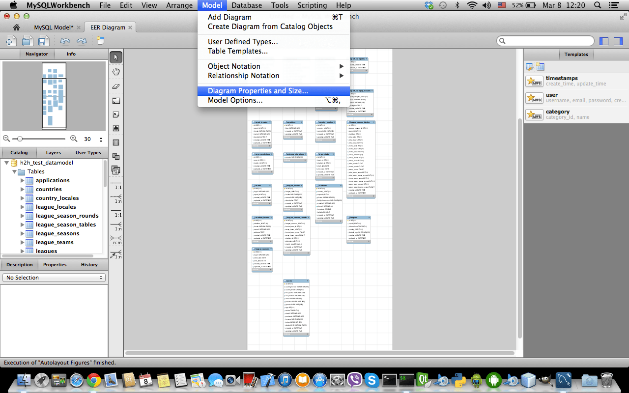 hight resolution of menu access