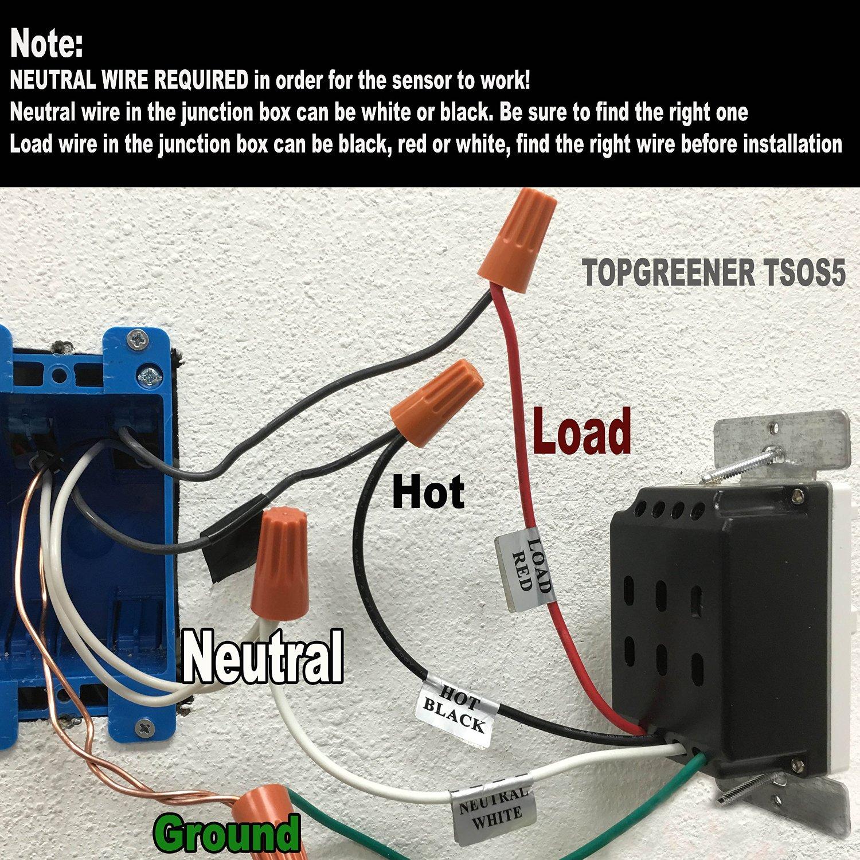 motion sensor light wiring diagram uk hvac system design electrical having issues connection home