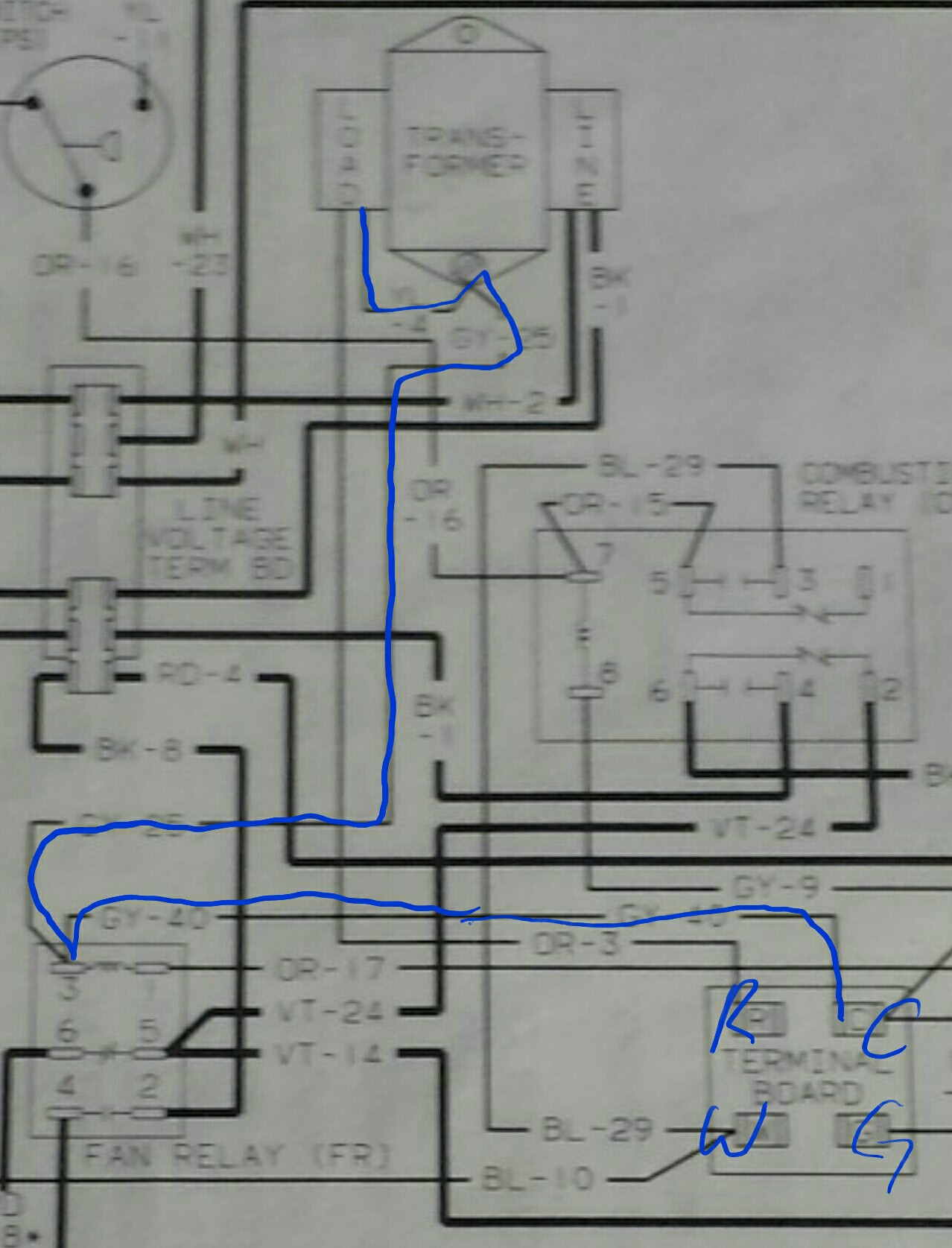 Amana 90 Air Command Gas Furnace Wiring Diagrams