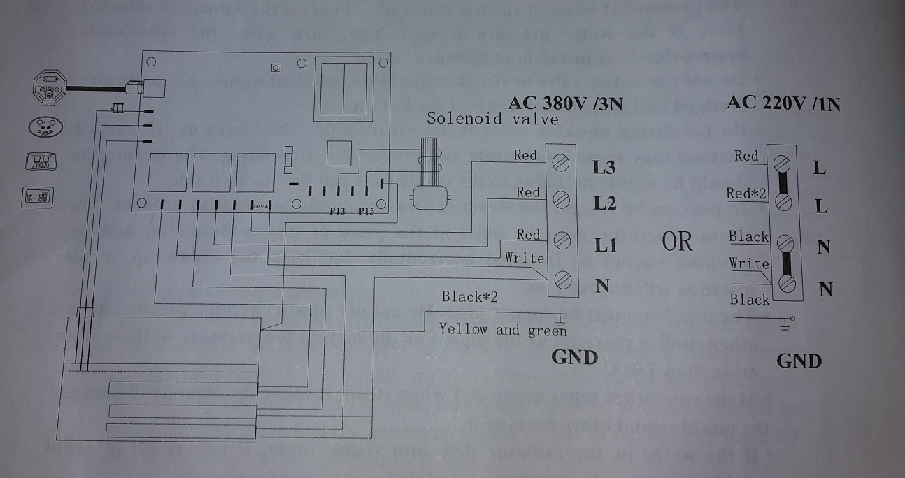 hight resolution of  heater connections controller connection 2 diagram