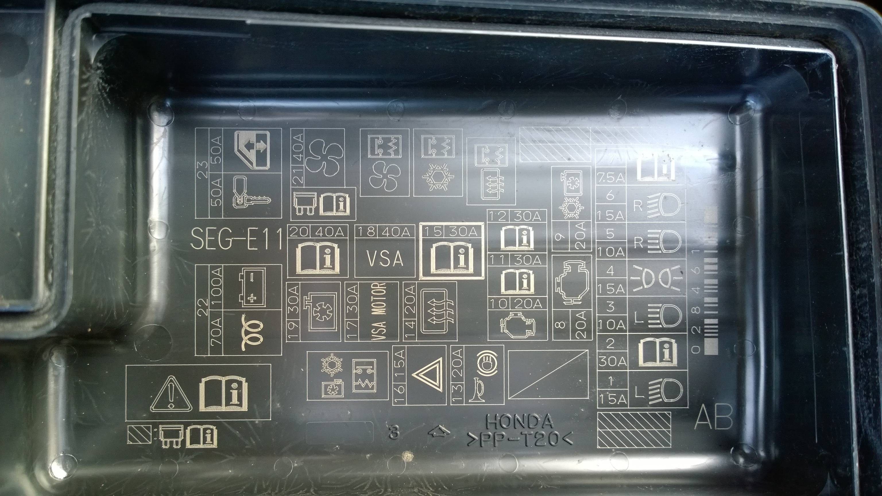 Honda Accord Fuse Box Diagram On 92 Honda Accord Fuse Box Diagram