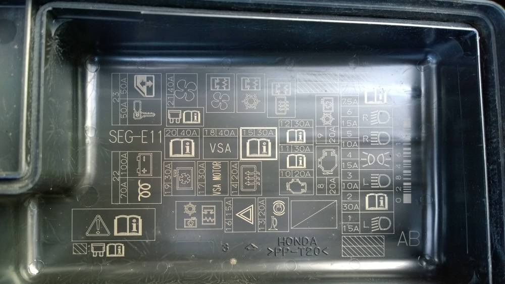 medium resolution of 2003 honda civic hybrid fuse box details