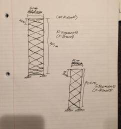 how does the number of braces in a balsa wood tower affect the load capacity  [ 2448 x 3264 Pixel ]