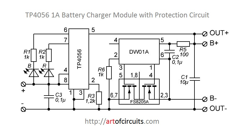 Understanding LiPo charging / protection circuit
