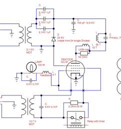vacuum tube tesla coil vttc schematic interpretation electrical tesla coil wiring diagram tesla coil diagram math [ 1039 x 768 Pixel ]