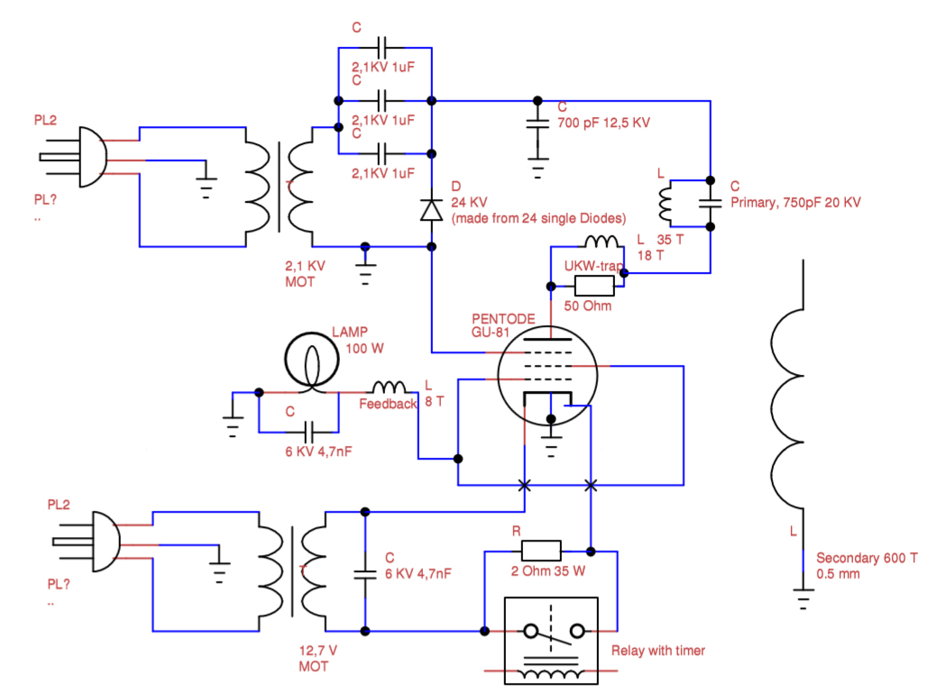hight resolution of vacuum tube tesla coil vttc schematic interpretation electrical tesla coil wiring diagram tesla coil diagram math